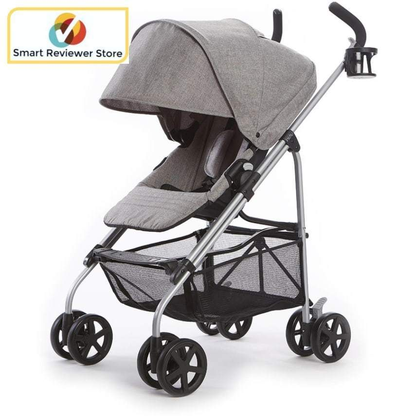 Stroller Travel System Reversible Gray Special Edition Modern