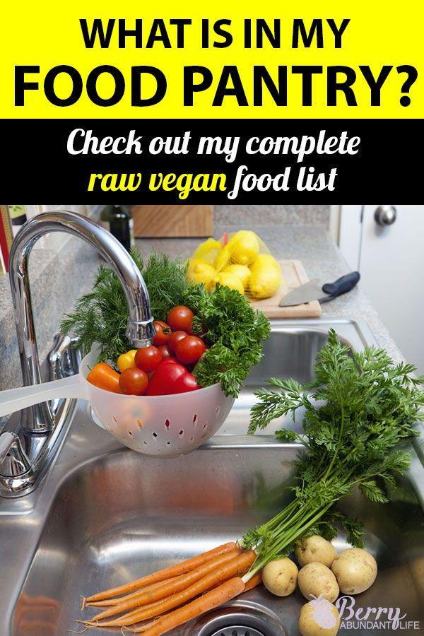 Raw Vegan Food List Vegan food list, Raw food diet, Raw