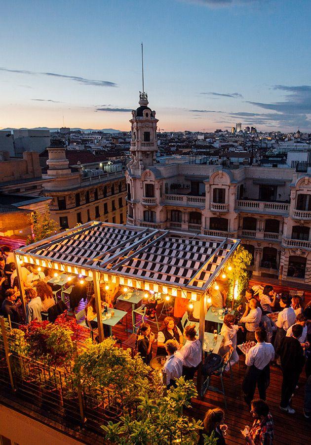 De Madrid Al Cielo Un Tour Por Sus Terrazas Más Cool