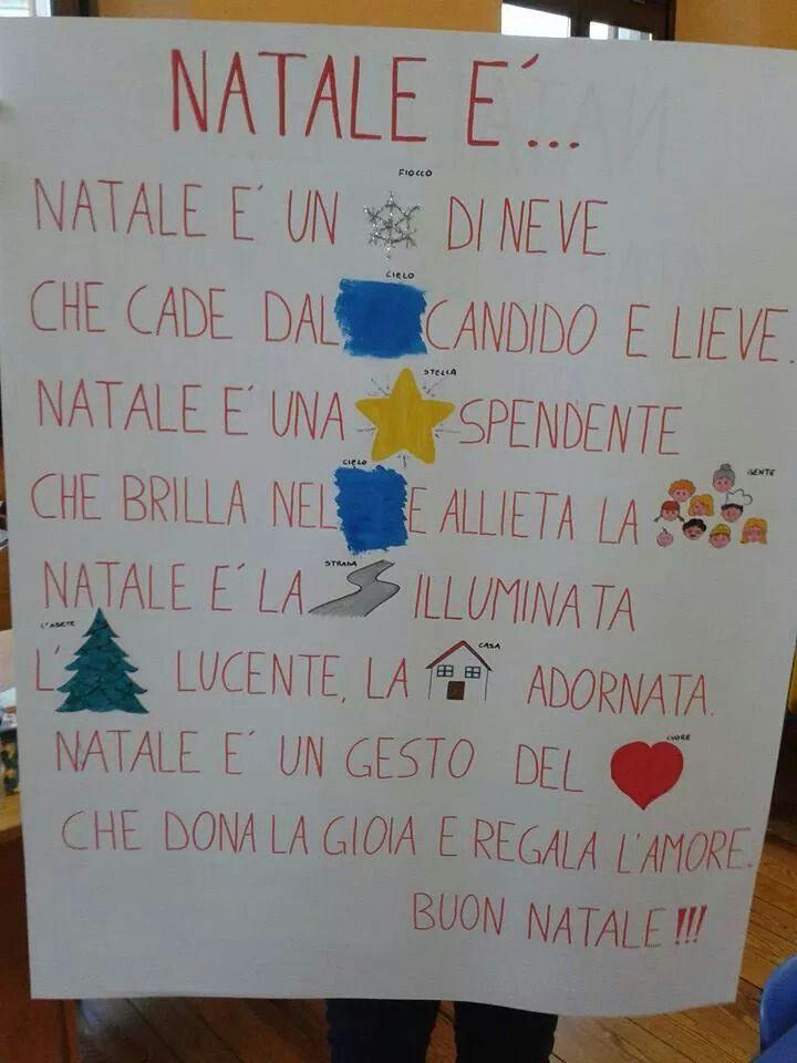 Poesie Di Natale Per Bambini Asilo.Poesia Natale Natale Parole Di Natale E Bambini Di Natale