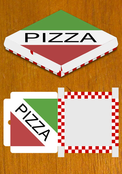 Free printable pizza box template. Free printable pizza box.