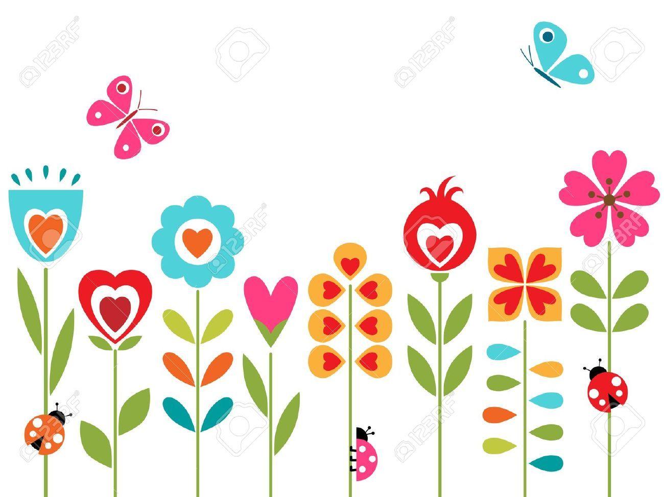 Flowers cartoon images ClipartFest Socks Pinterest