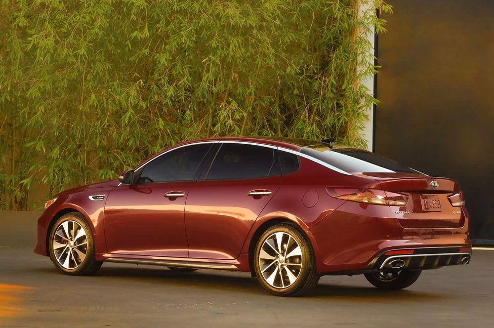 New Release 2016 Kia Optima Review Rear Side View Model