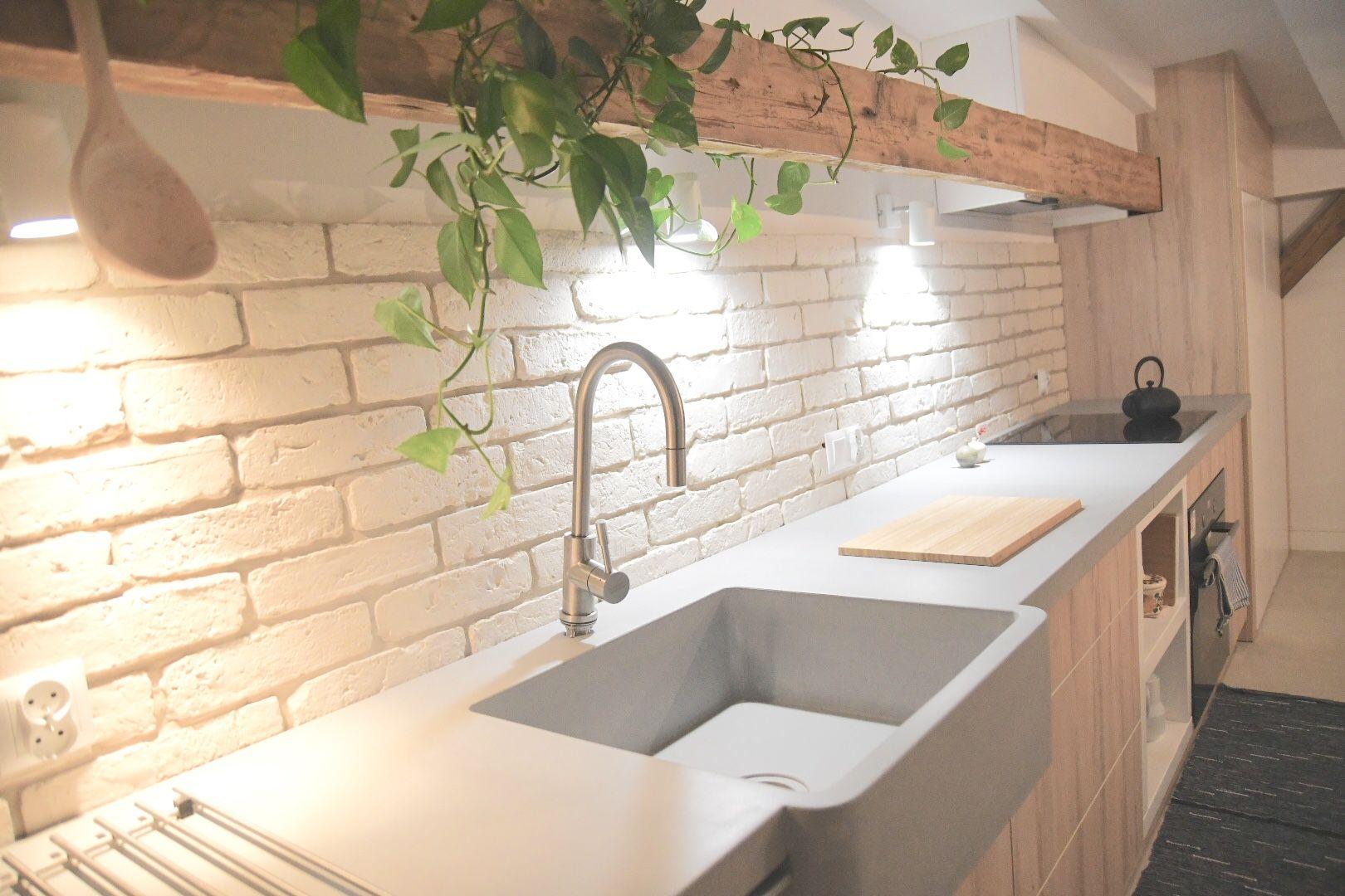 Zlew Betonowy Concrete Art Farm Sink Zintegrowany Z Blatem Blaty