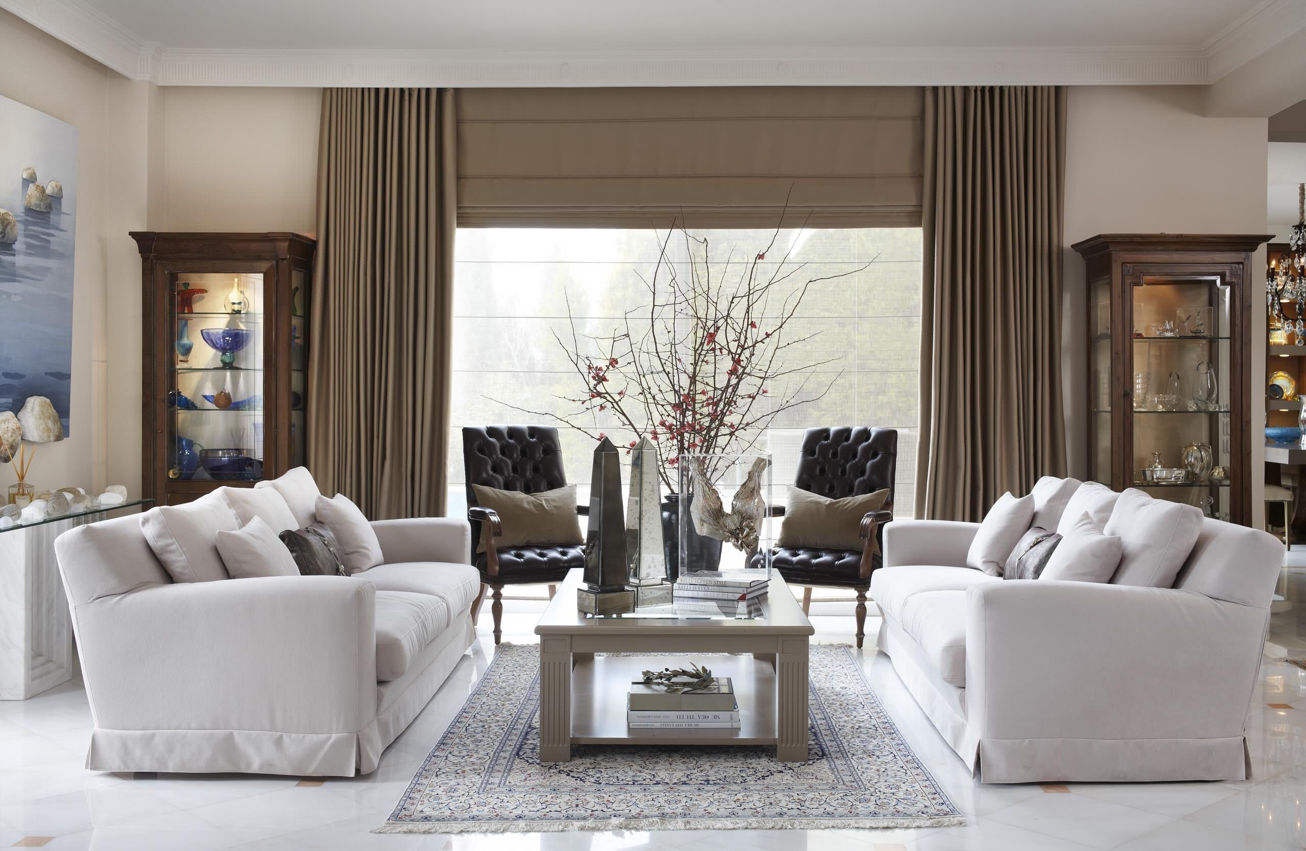Cortinas para sala modernas cortinas para for Cortinas de living