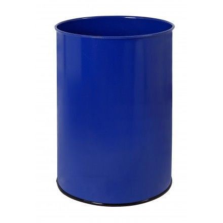 Wastepaper basket with protective ring on base. 25 Liters - www.sistemasdavid.com #office #suministros #papelera