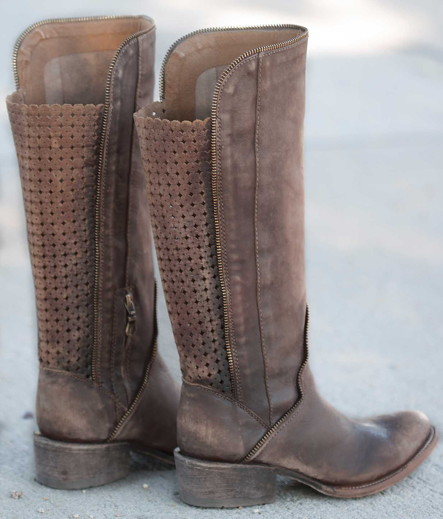 Indie Spirit by Corral Distressed Riding Boot - Women s Shoes ... bd4b6a84c58