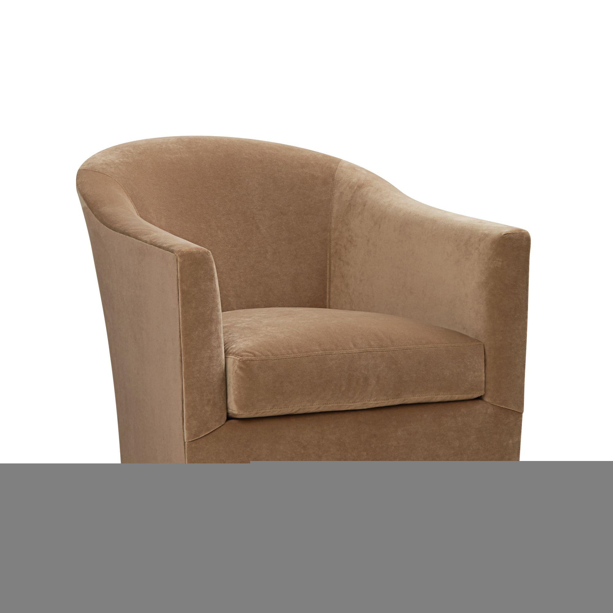 Wunderbar Kleiner Drehstuhl Geflügelten Sessel Drehstühle Für Wohnzimmer, Getuftet  Akzent Stuhl Senf Akzent Stuhl Drehsessel Sessel