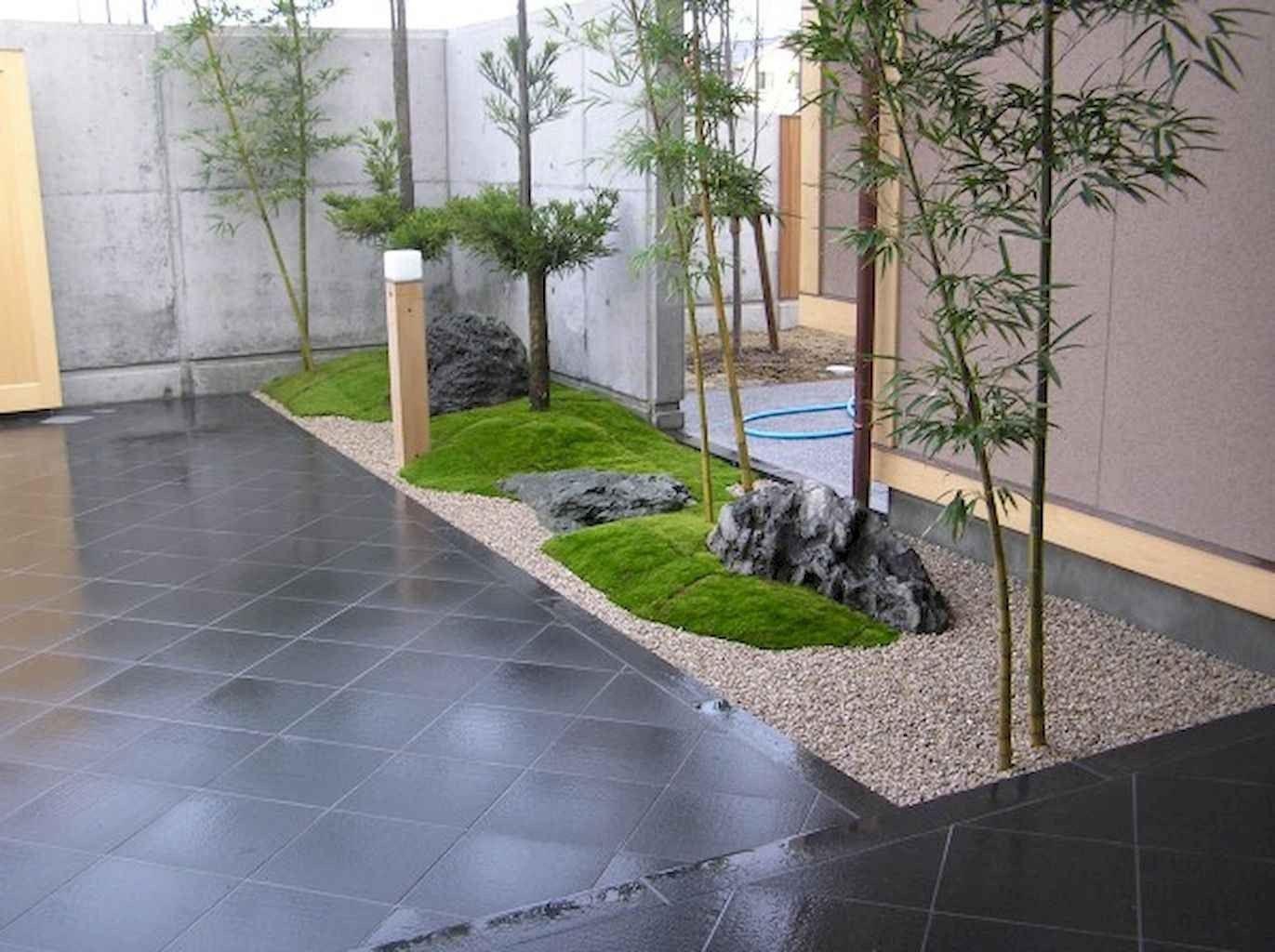 30 Easy & Modern Rock Garden Design Ideas Front Yard ... on Zen Front Yard Ideas id=94702