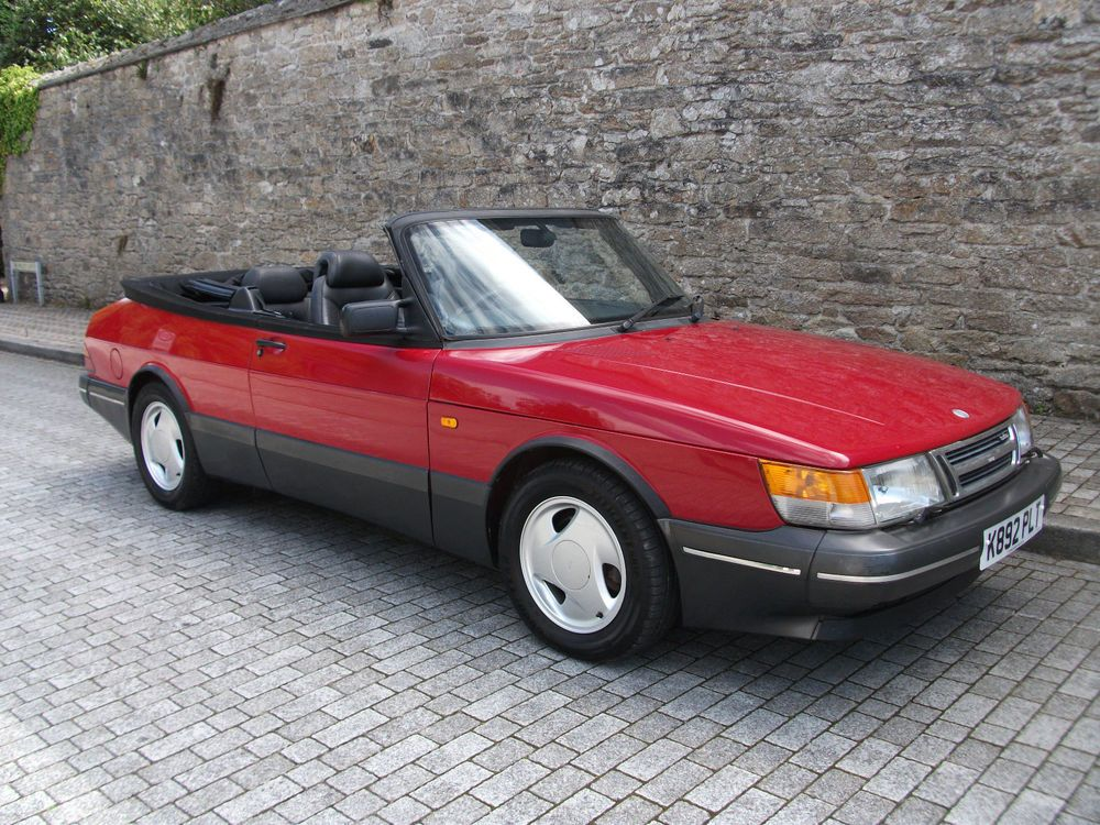Ebay Saab 900 S Lp Turbo Convertible 1993 Nice End Of Summer Bargain A C New Mot