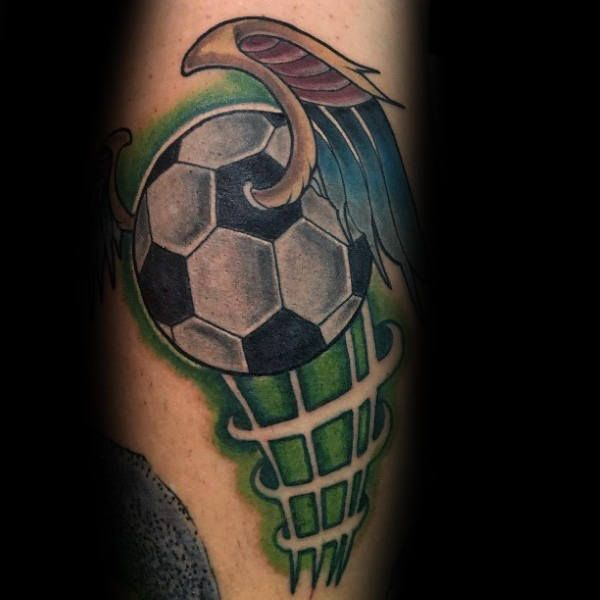 Top 87 Soccer Tattoo Ideas 2020 Inspiration Guide Soccer Tattoos Football Tattoo Tattoos For Guys