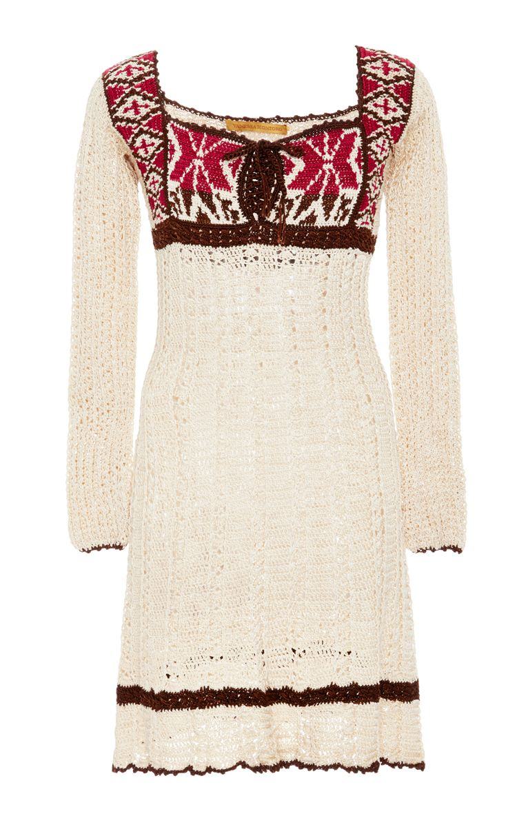 Long sleeve indie dress by vanessa montoro for preorder on moda
