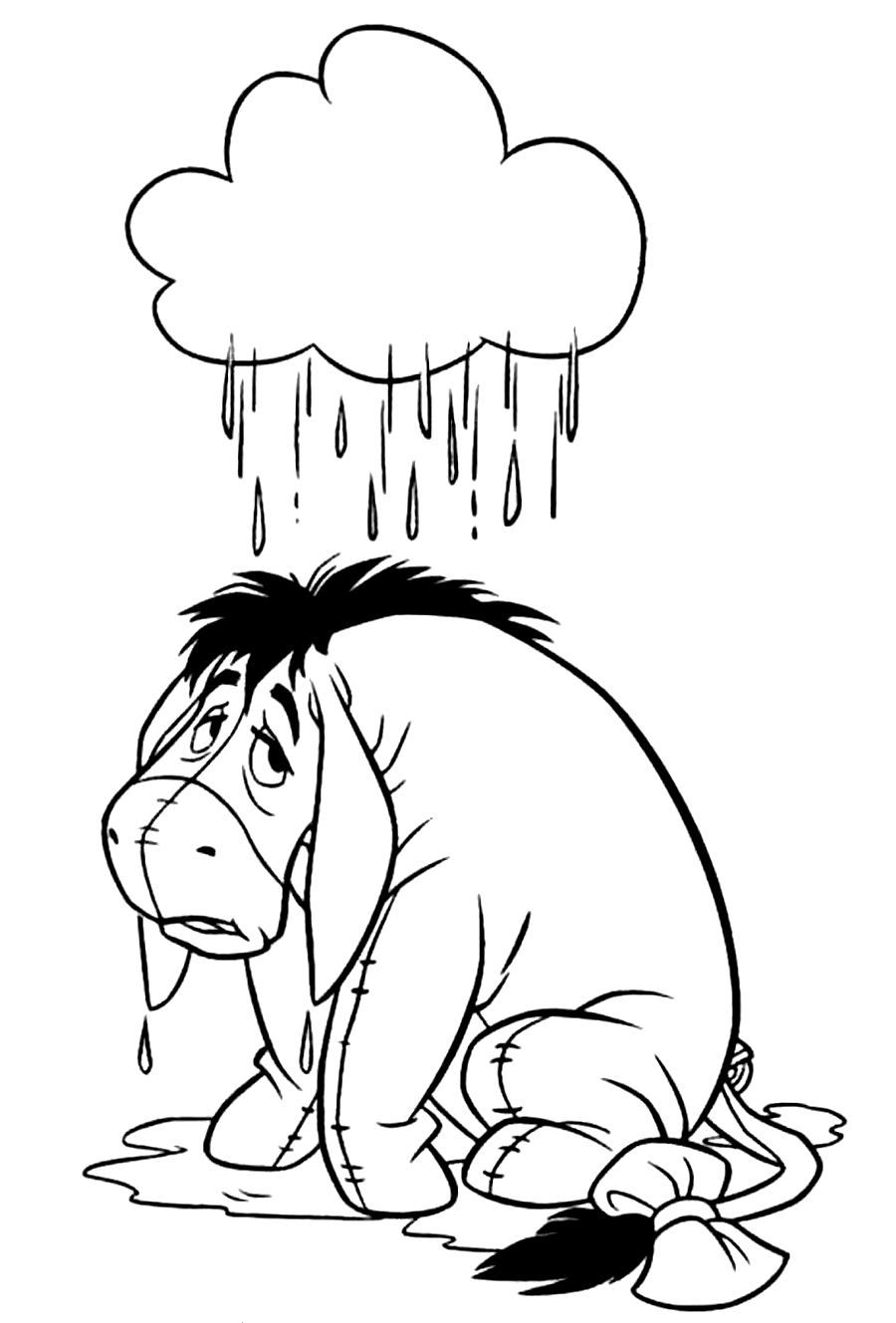 Xmas Stuff For > Eeyore Christmas Coloring Pages | Sam\'s Art ...