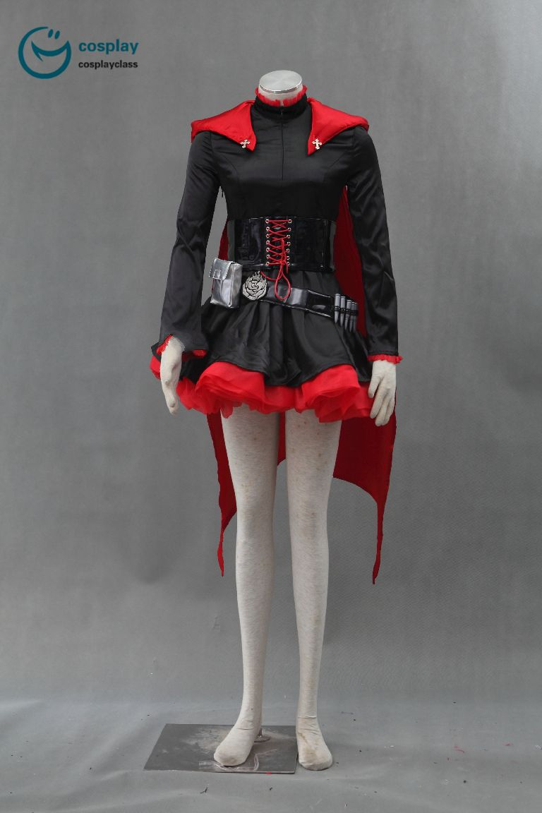 RWBY red trailer Rose Cosplay costume
