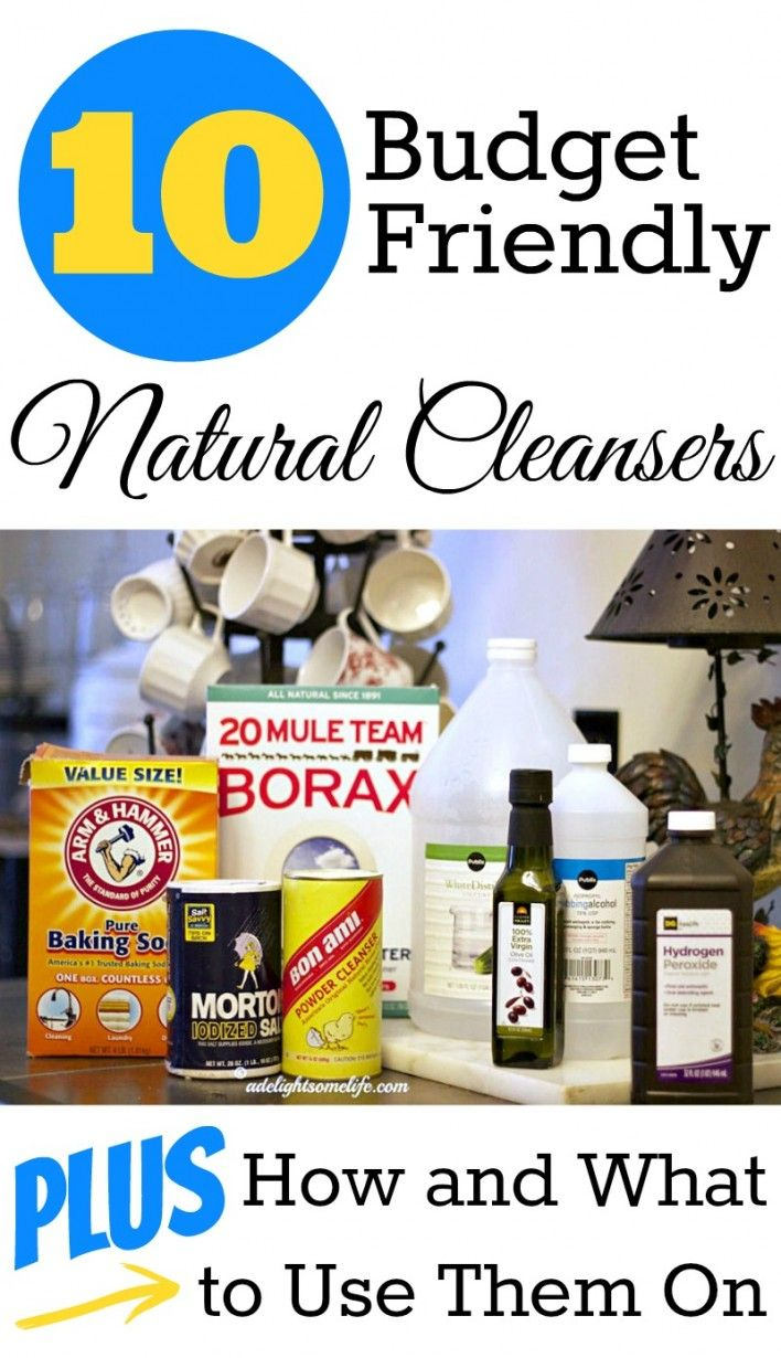 Diy Natural Cleaners: budget friendly cleaning tips and cleanser recipes | #cleaningtips #naturalcleaning