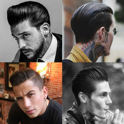 Best 1950s Greaser Hairstyles