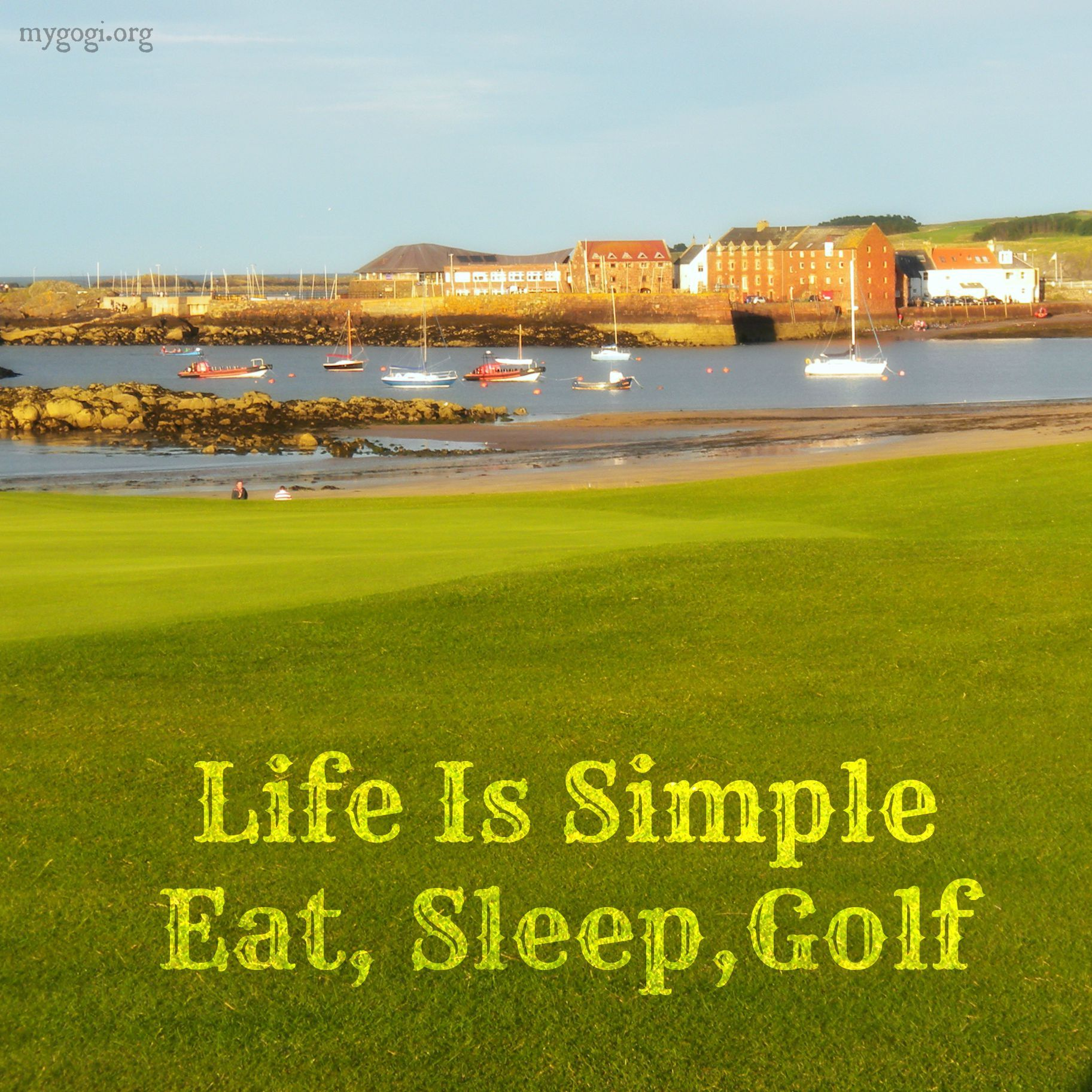 Golf And Life Quotes Life Is Simple Eat Sleep Golf Golfislife Golflife Golf Quotes