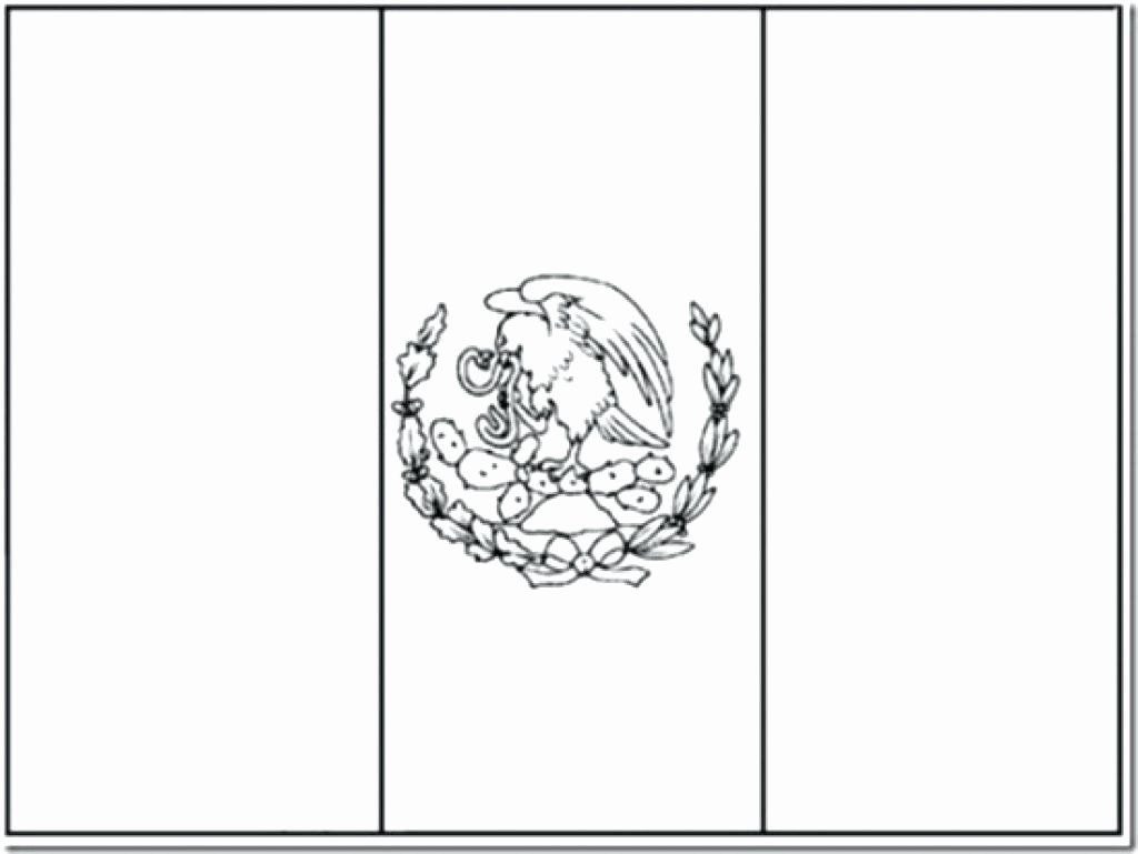 Mexican Flag Eagle Coloring Page Beautiful Mexico Flag Coloring