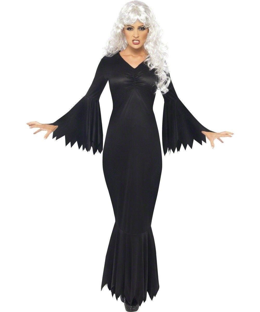 Célèbre Déguisement vampire noire femme Halloween | Deguisement vampire  XV52