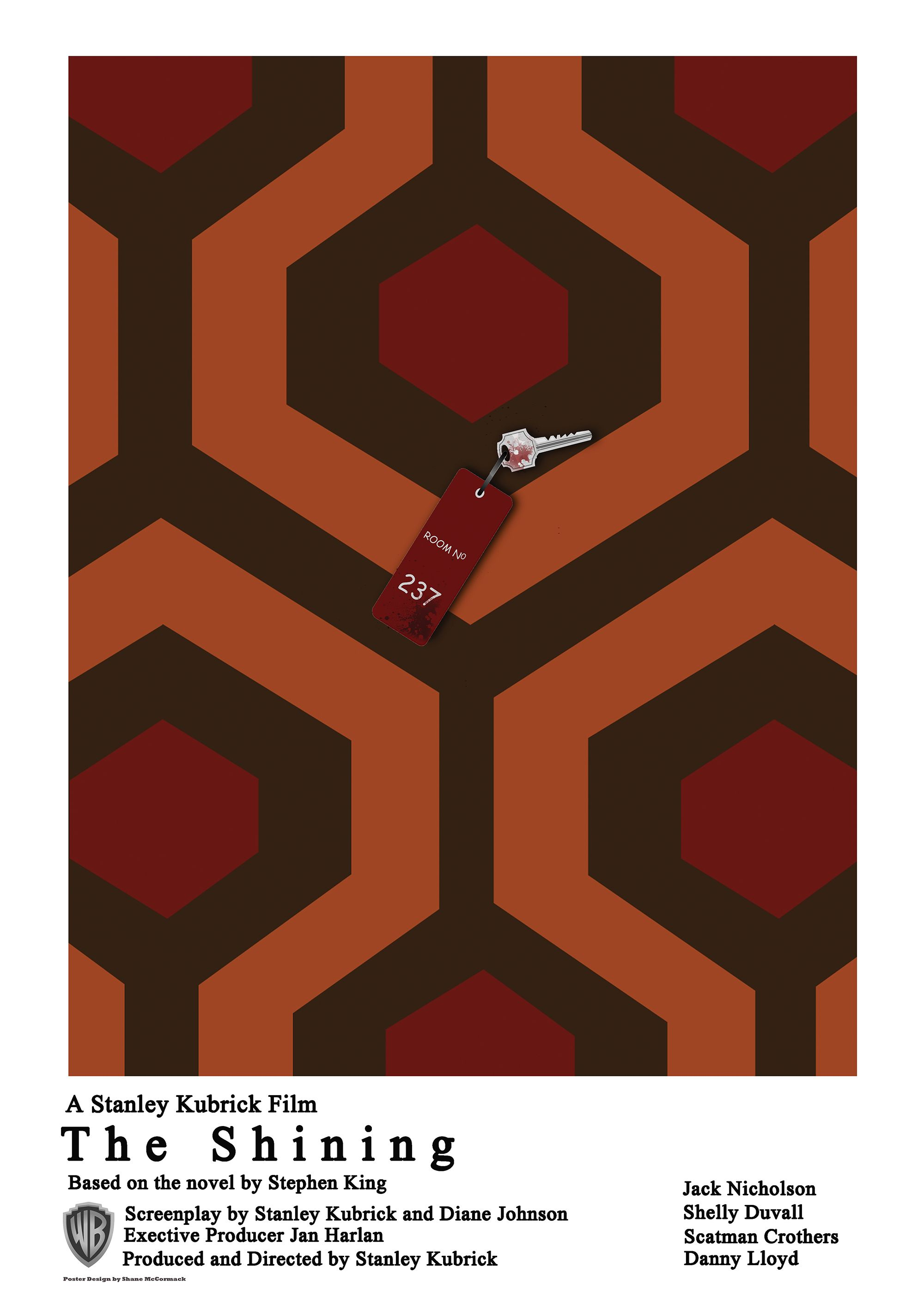 The Shining, Custom one sheet poster   Movies, Books, Shows, Etc ...
