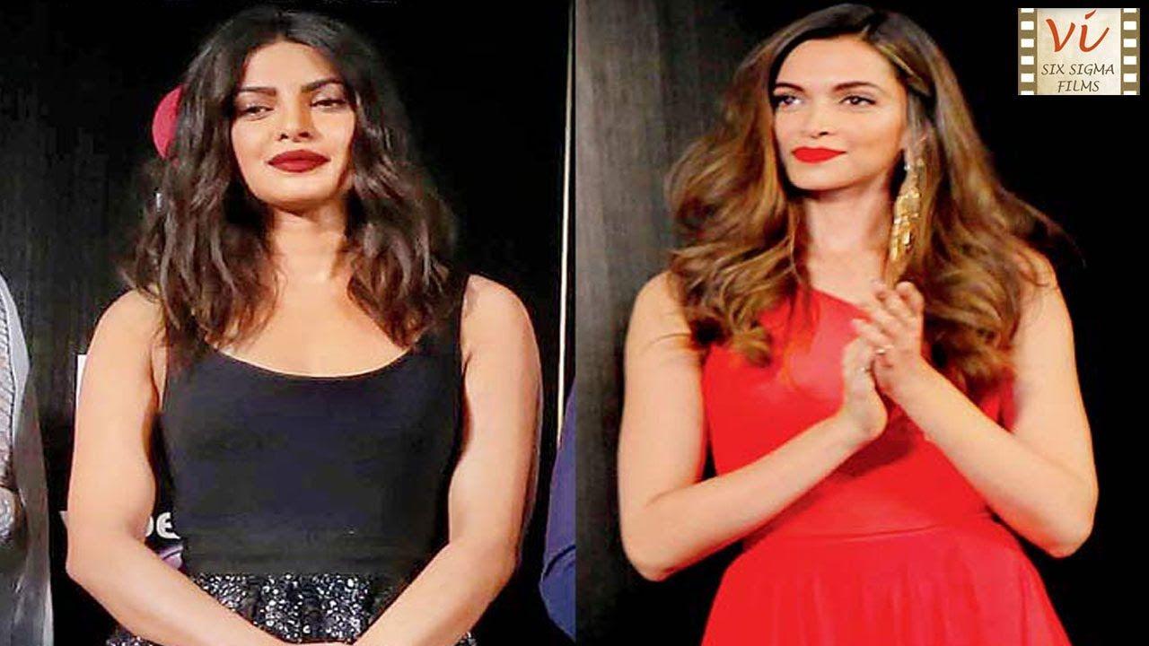 Deepika Padukone Gets Angry On Being Compared With Priyanka Chopra Six Priyanka Chopra Chopra Deepika Padukone