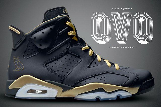Drake Designs OVO Themed Air Jordan 6s