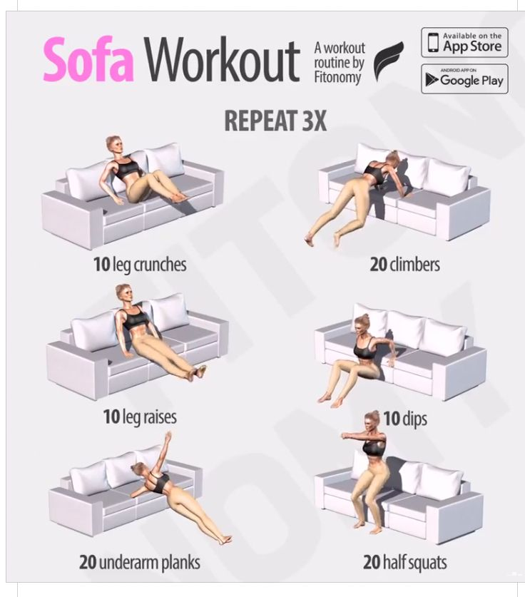 Quick Strategies In Strength Training Uncovered: Quick And Easy Sofa Ab Workout