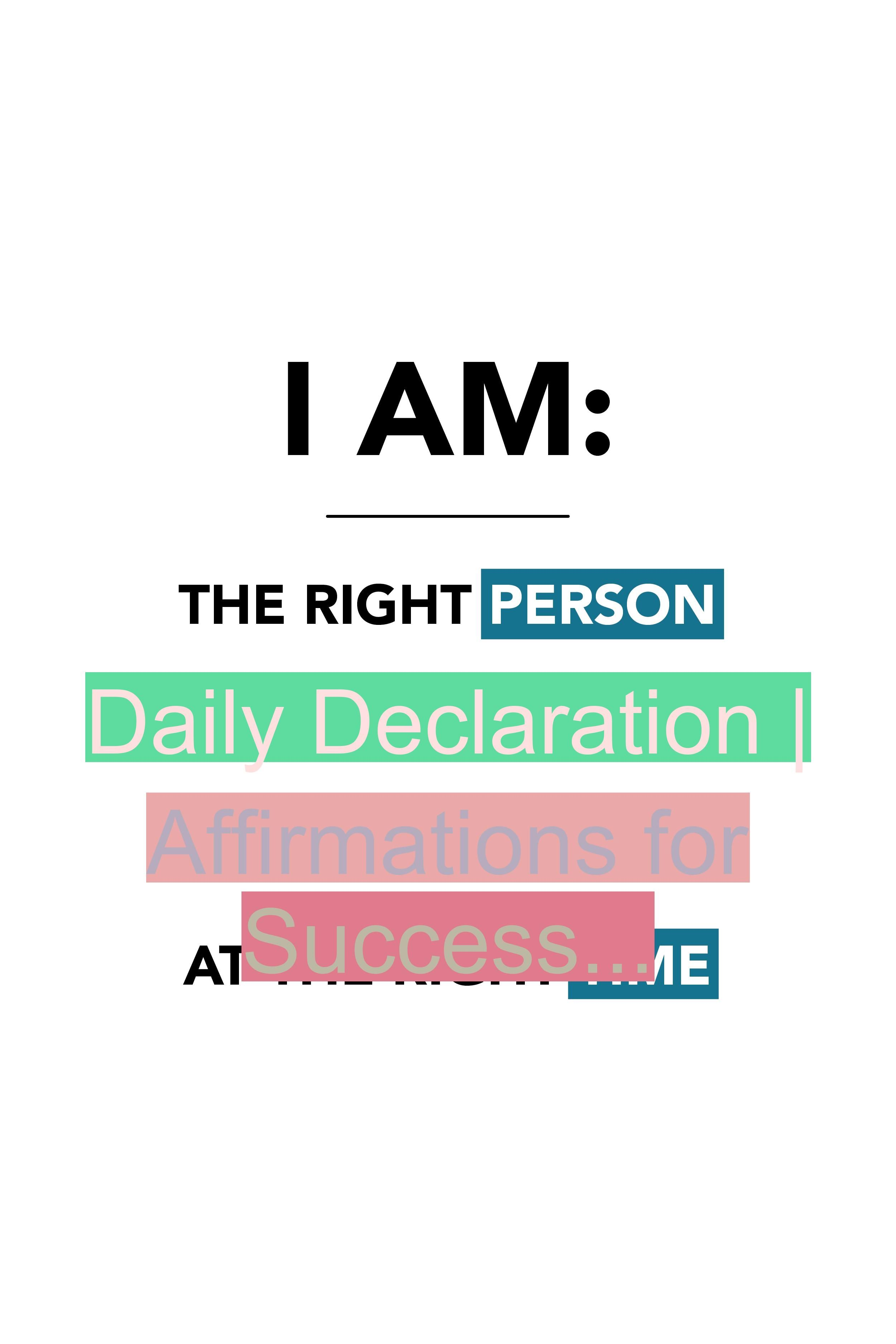 I AM... For more weekly podcast, motivational quotes and