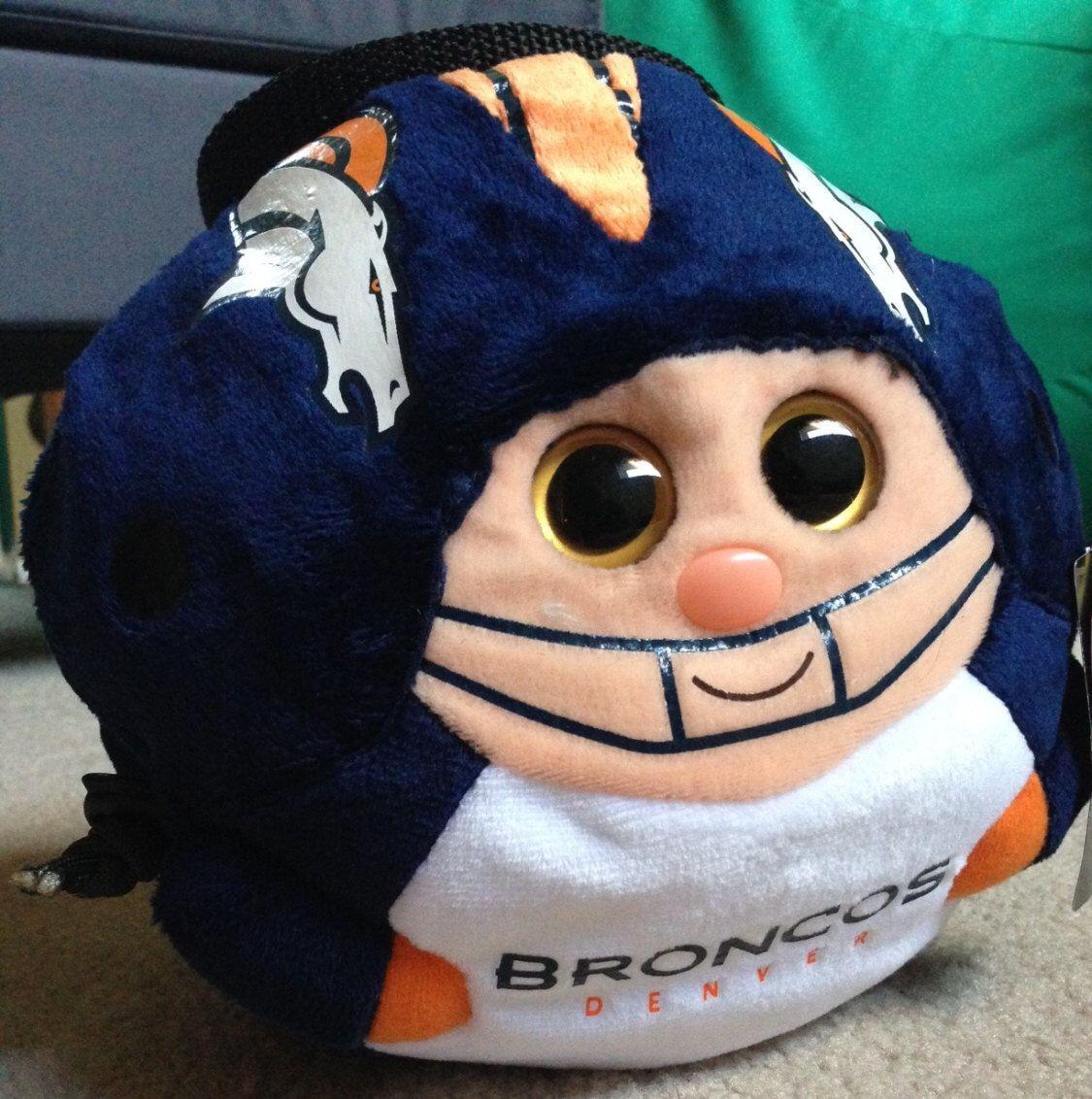 Crimp Chimps Denver Broncos Stuffed Animal Chalk Bag Denver