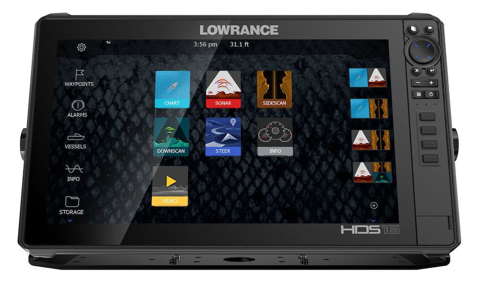 Lowrance HDS 16 LIVE StructureScan 3D Сонар Live map
