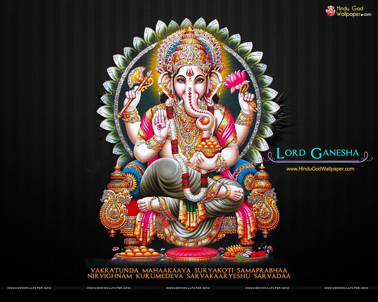 Download Images Of Lord Ganesha: Ganesh Wallpaper For Desktop HD Free Download