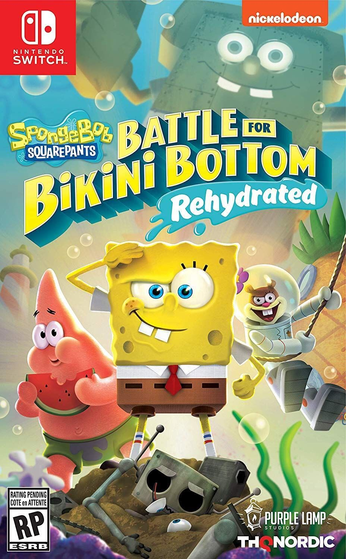 Amazon Spongebob Squarepants Battle For Bikini Bottom Rehydrated Nintendo Switch Standa In 2020 Spongebob Spongebob Games Spongebob Squarepants