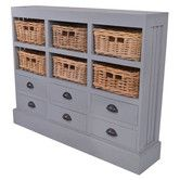 Found It At Wayfair Nantucket 6 Drawer And 6 Basket Storage Cabinet For Tv Console Cabinet Stylish Cabinet House Interior Decor
