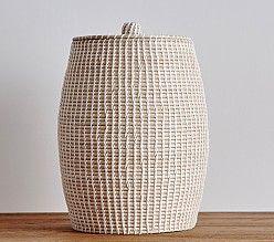 Giraffe Shaped Wicker Basket Pottery Barn Laundry