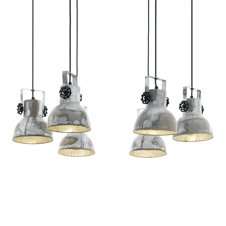 LED Glas Hänge Pendel Leuchte Ess Zimmer Chrom Strahler Lampe Höhe verstellbar