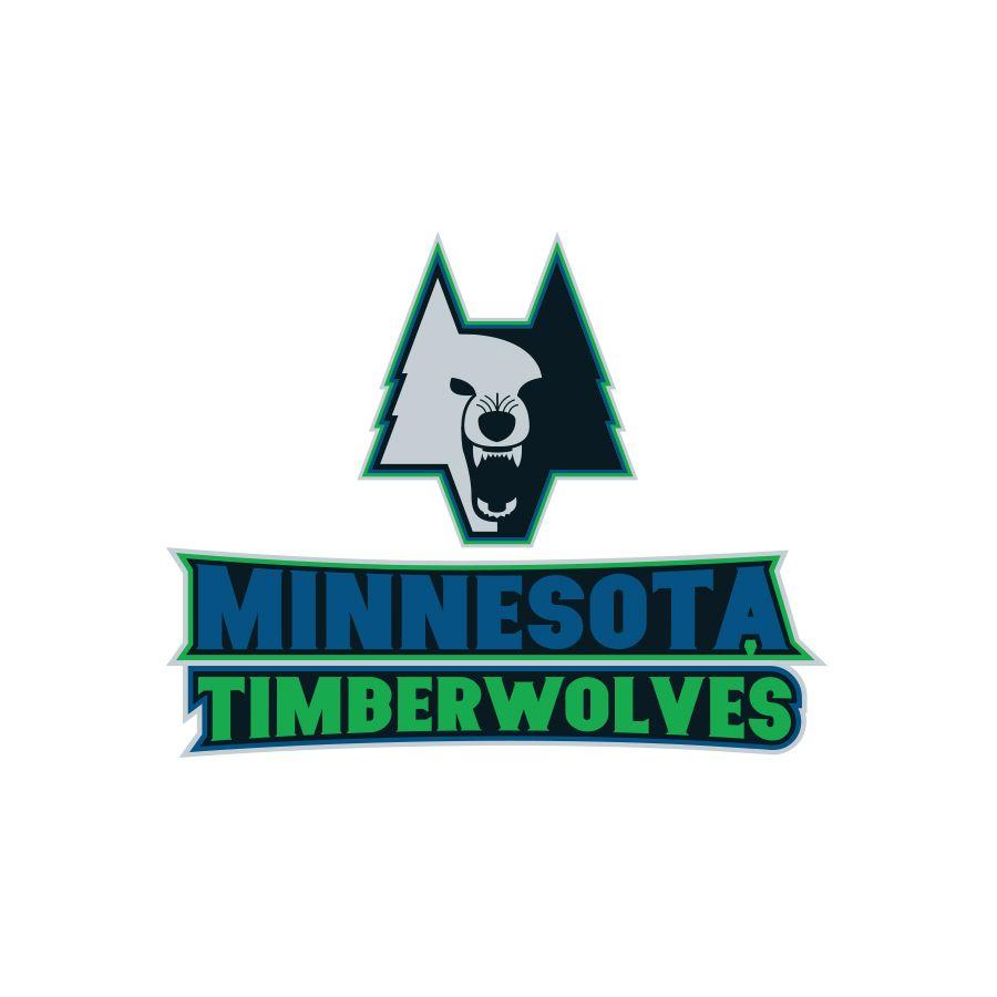 Nba Logo Redesign Minnesota Timberwolves On Behance Minnesota