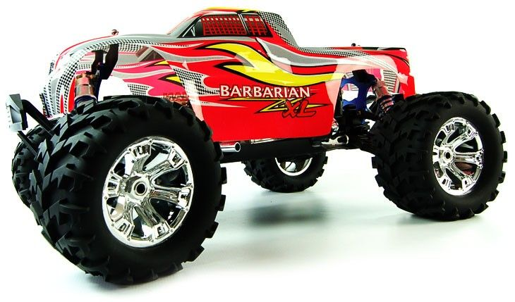 Barbarian Nxl Scale Rc Nitro Monster Truck Http Www