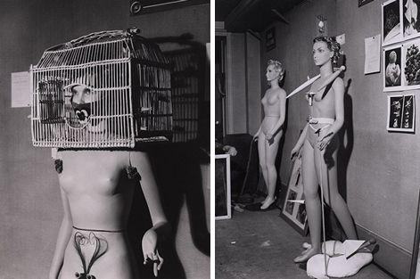 Los maniquies del surrealismo (1938) como antecedente de la moda conceptual