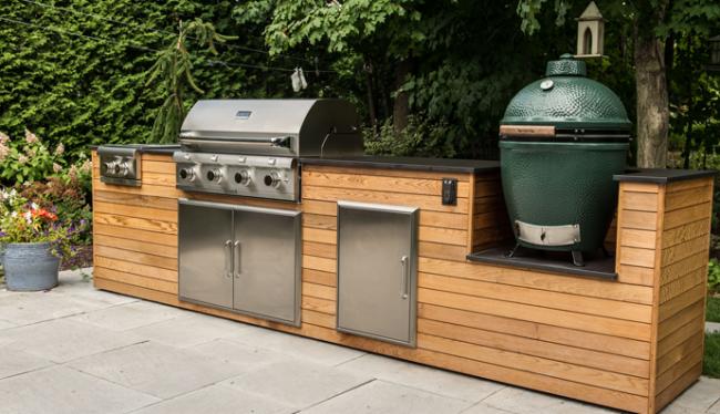 urban bonfire s private outdoor patio in 2019 summer kitchen outdoor outdoor living on outdoor kitchen essentials id=13063