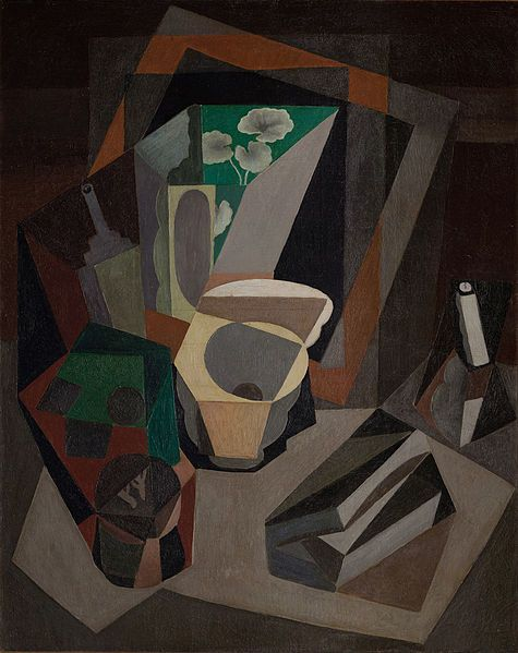 Diego Rivera - Still life with utensils, 1917 museo dolores