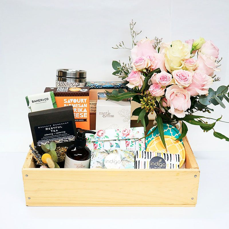 premium curated gift boxes Sydney delivery hampers