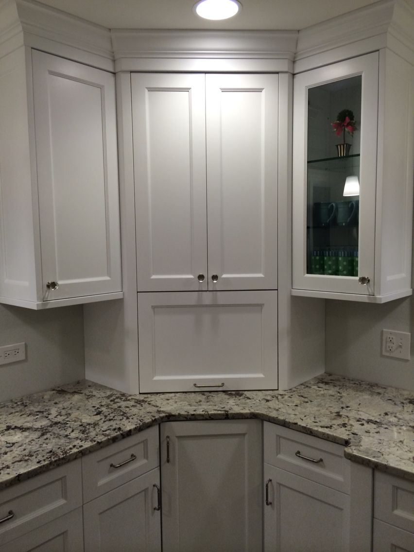Appliance Garage Nice Place To Hide The Kitchen Aid Mixer And Toaster Distressed Kitchen Cabinets Kitchen Remodel Small Distressed Kitchen