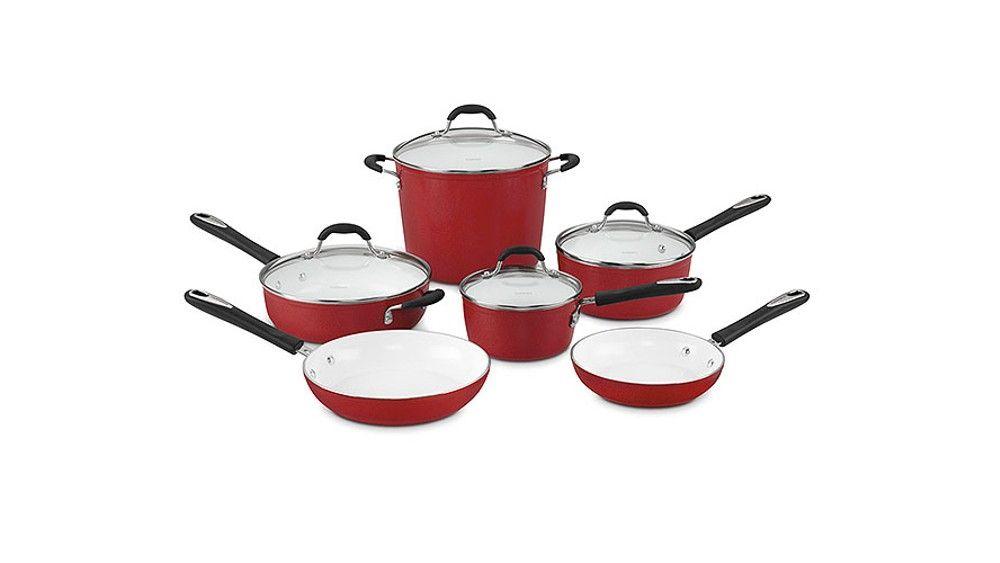 Conjunto De Panelas Cuisinart Elements Na Polishop Polishop Com