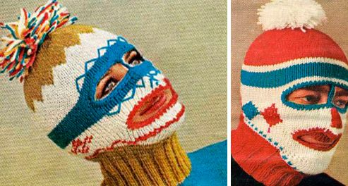 Freaky Adult Balaclava KNIT HATS Pinterest Knitting Patterns Awesome Balaclava Knitting Pattern