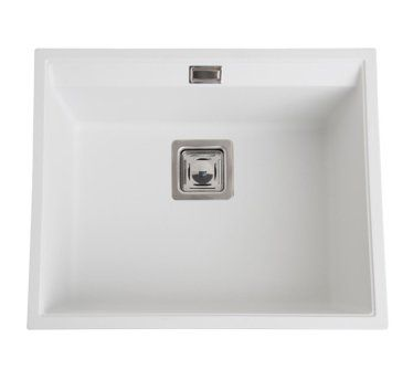 Aquasanita évier Granit Blanc Delis 1 Bac 3663019023087 Eviers