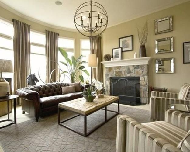 Farmhouse Glam Living Room Rooms With Leather Sofas 42 Awesome Design Ideas