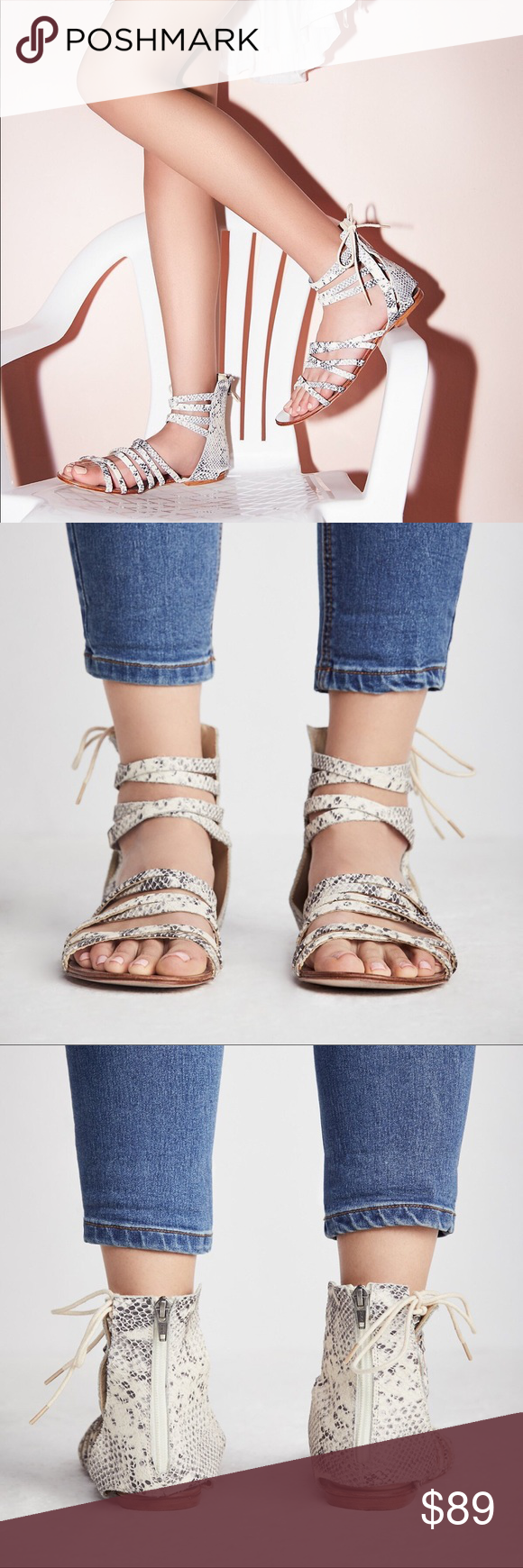 38030a0efdf Free People Juliette Wrap Sandal Eye catching sandal featuring an ...
