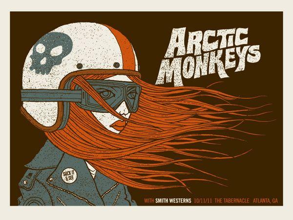 Arctic Monkeys > by Methane Studios