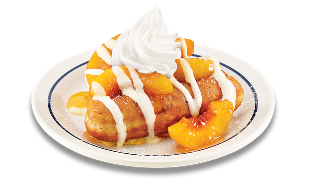 Peach Vanilla Stuffed French Toast | IHOP | Pancakes, French Toast ...