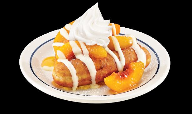 Peach Vanilla Stuffed French Toast   IHOP   Pancakes, French Toast ...